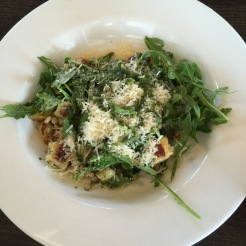 Pesto gnocchi - shoulda been good, was only so so.