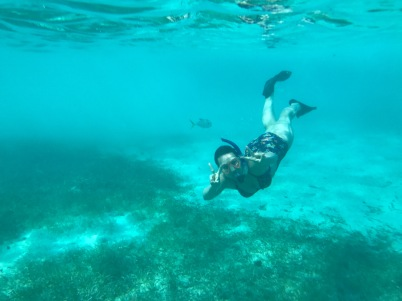 Peace, love, and snorkeling