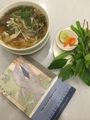 Beef Pho and good reads.