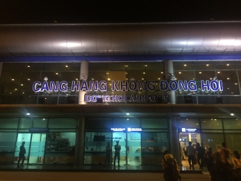 First stop, Dong Hoi!