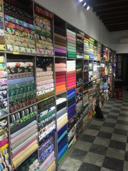 Pick your fabric (an overwhelming choice that I failed at miserably the first time around).