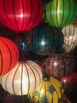 Lanterns, everywhere you look