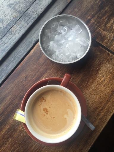 Iced latte... baaaahahahahaha